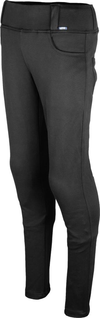 GMS Anaconda Damen Motorrad Textilhose, schwarz, Größe 48, schwarz, Größe 48