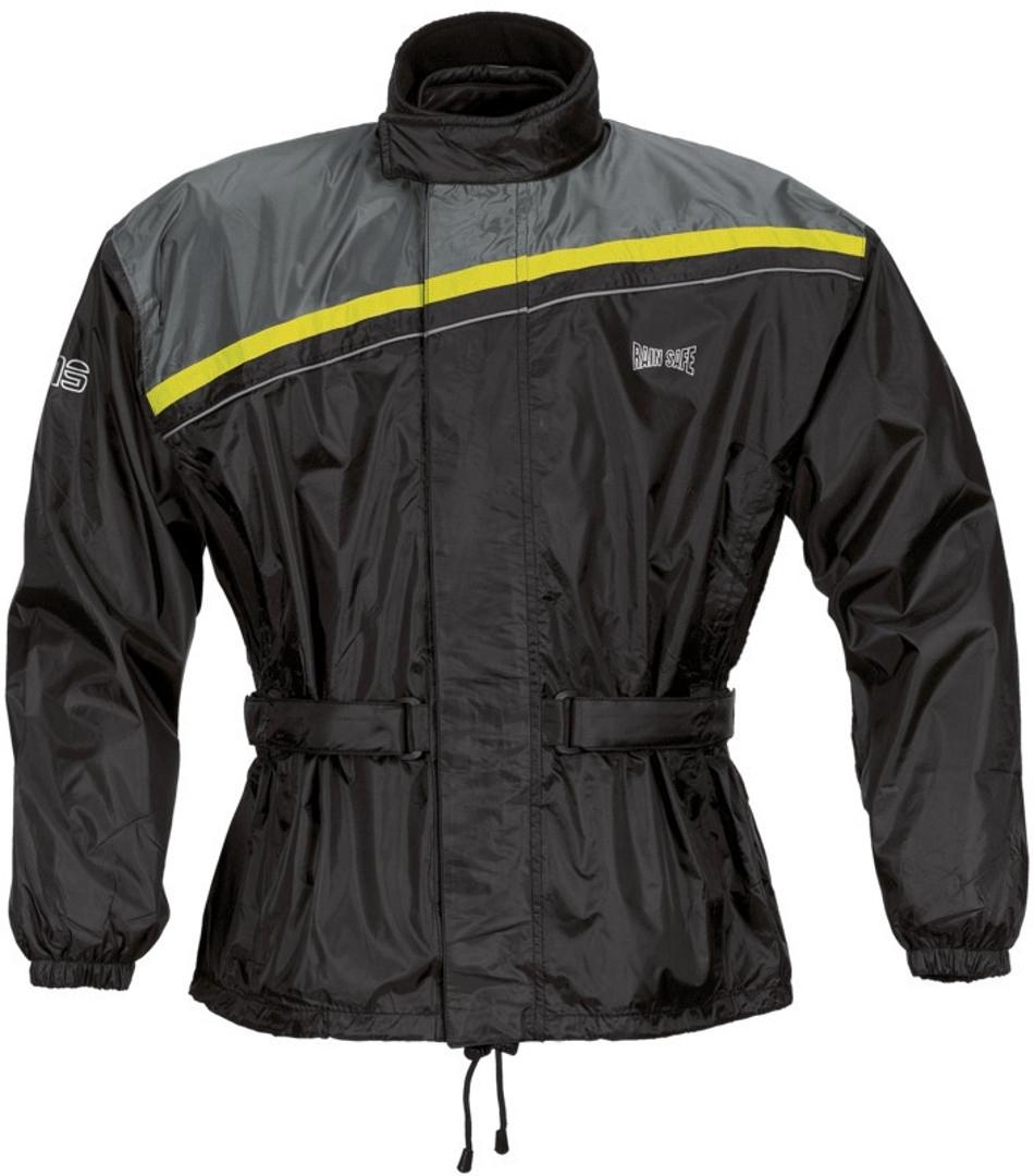 GMS Douglas Motorrad Regenjacke, schwarz-gelb, Größe 9XL, schwarz-gelb, Größe 9XL