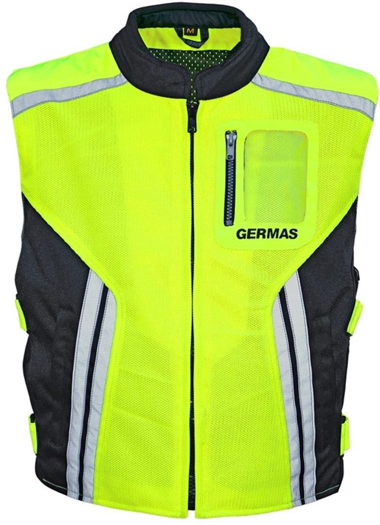 GMS Premium Warnweste, gelb, Größe XL, gelb, Größe XL