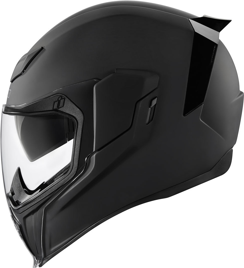 Icon Airflite Rubatone Helm, schwarz, Größe M, schwarz, Größe M