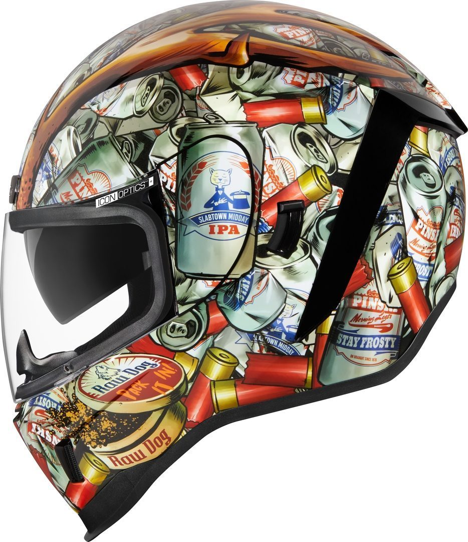 Icon Airform Buck Fever Helm, mehrfarbig, Größe M, mehrfarbig, Größe M