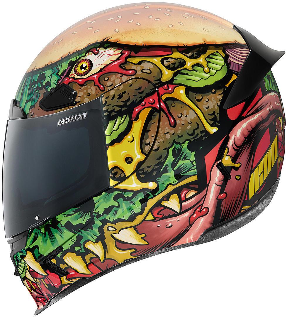 Icon Airframe Pro Fastfood Helm, mehrfarbig, Größe S, mehrfarbig, Größe S