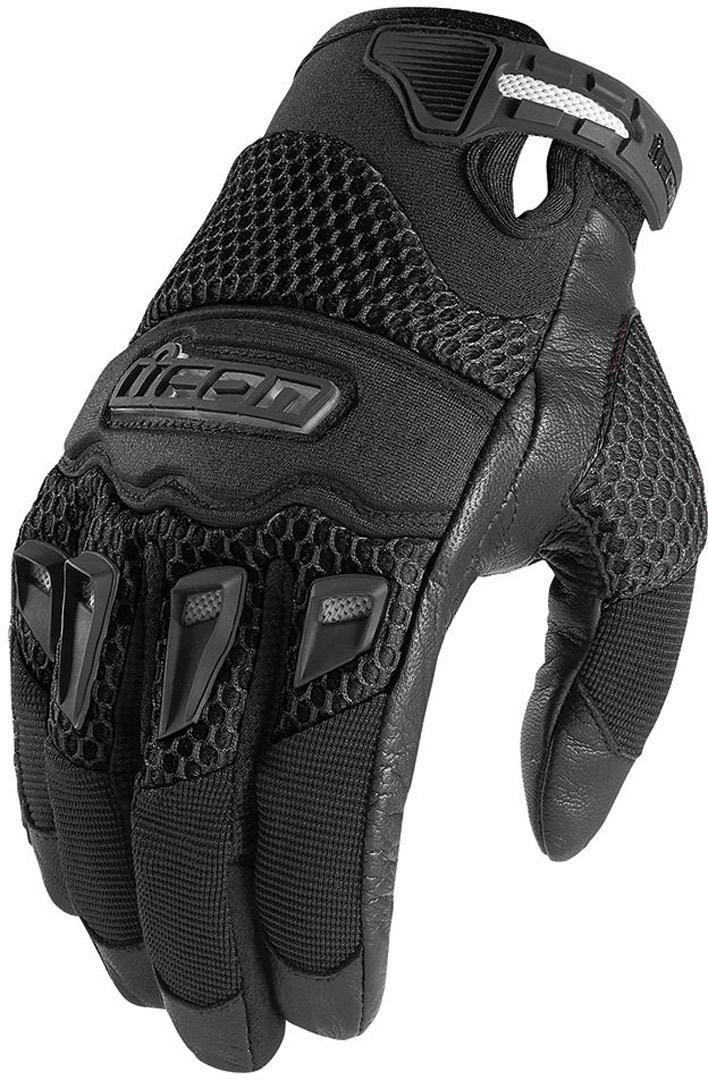 Icon Twenty Niner Motorradhandschuhe, schwarz, Größe S, schwarz, Größe S