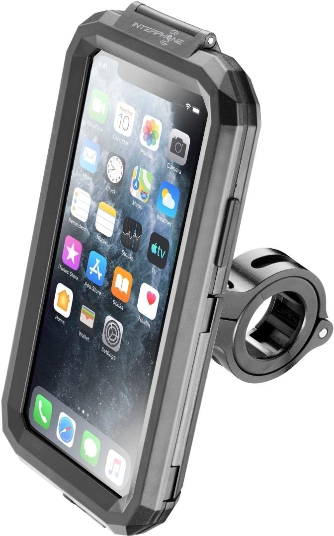 Interphone iCase iPhone X/XS/11 Pro Handy Halterung, schwarz, schwarz