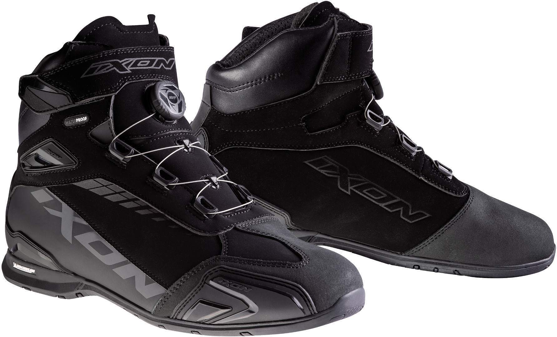 Ixon Bull WP Motorradschuhe, schwarz, Größe 41, schwarz, Größe 41