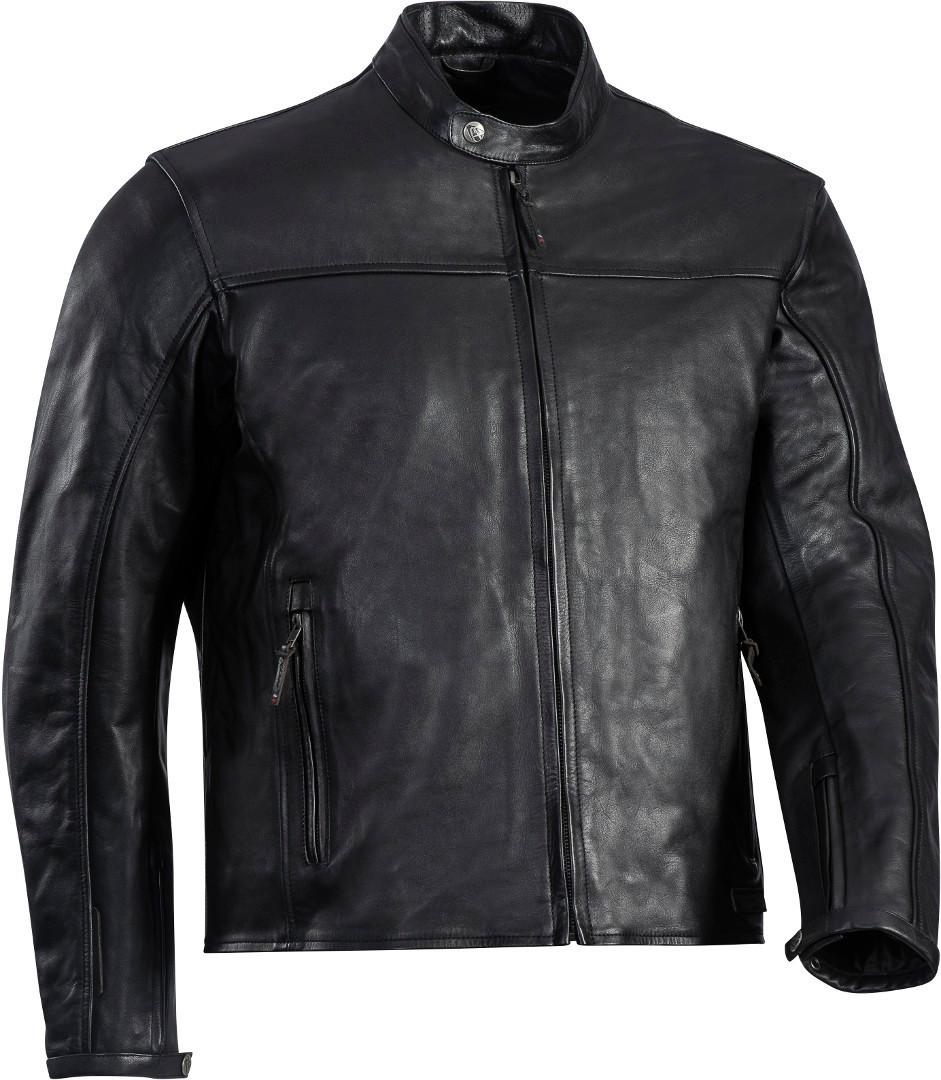 Ixon Crank-C Motorrad Lederjacke, schwarz, Größe 5XL, schwarz, Größe 5XL