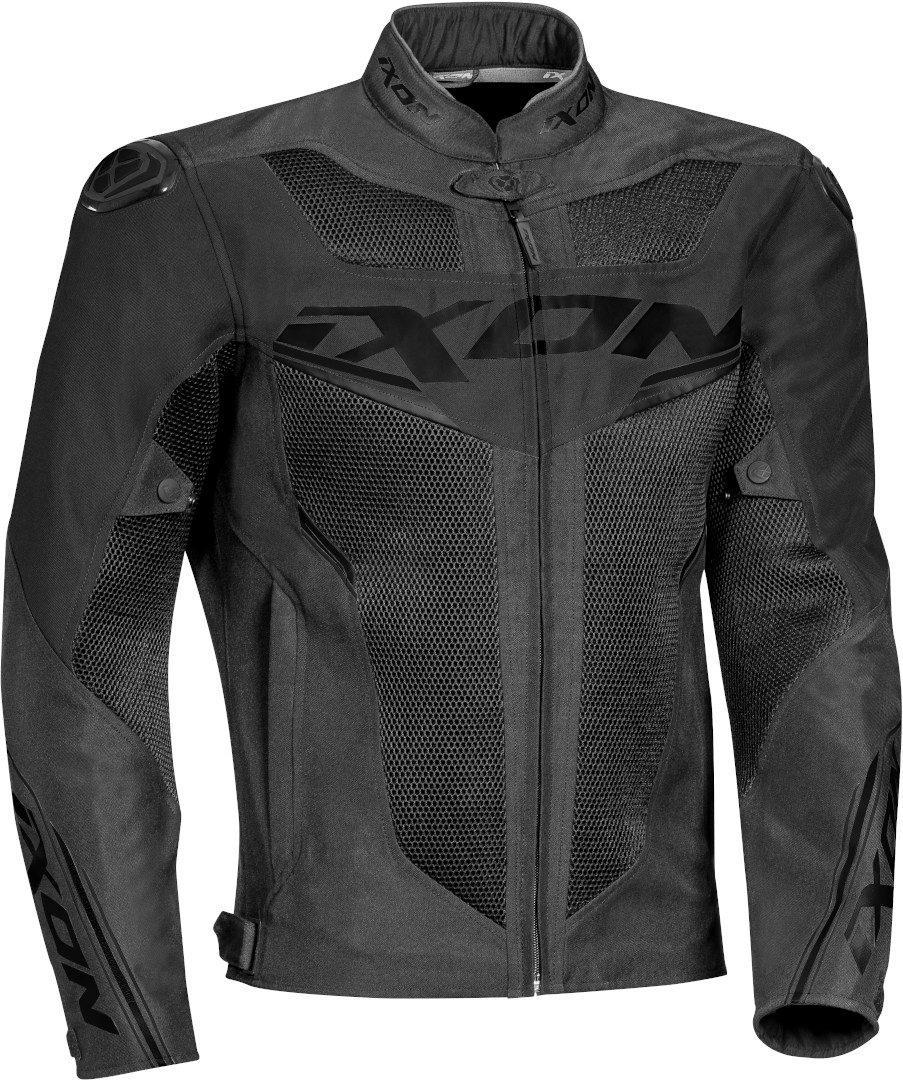 Ixon Draco Motorrad Textiljacke, schwarz, Größe 3XL, schwarz, Größe 3XL