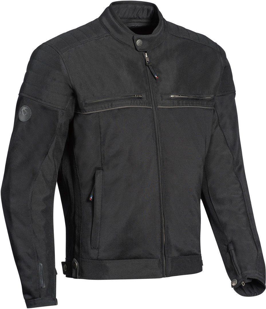 Ixon Filter Motorrad Textiljacke, schwarz, Größe S, schwarz, Größe S