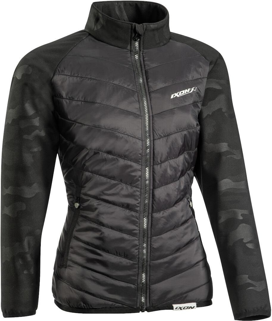 Ixon Gotham Damen Jacke, schwarz-mehrfarbig, Größe M, schwarz-mehrfarbig, Größe M
