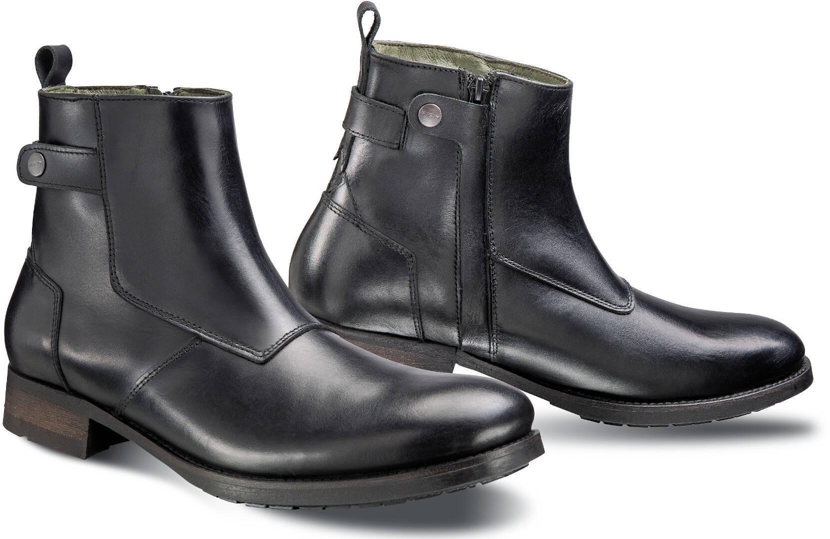 Ixon Hoxton Motorradstiefel, schwarz, Größe 46, schwarz, Größe 46
