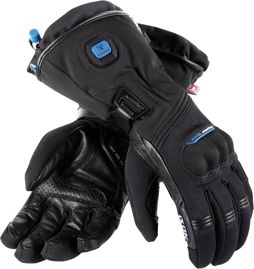 Ixon IT Yate Evo Beheizbare Damen Motorradhandschuhe, schwarz, Größe L, schwarz, Größe L