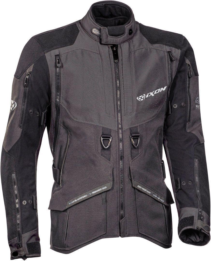 Ixon Ragnar Motorrad Textiljacke, schwarz-grau, Größe 3XL, schwarz-grau, Größe 3XL