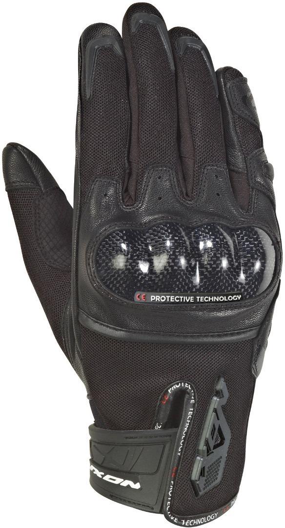 Ixon Rs Rise Air Motorradhandschuhe, schwarz, Größe 2XL, schwarz, Größe 2XL