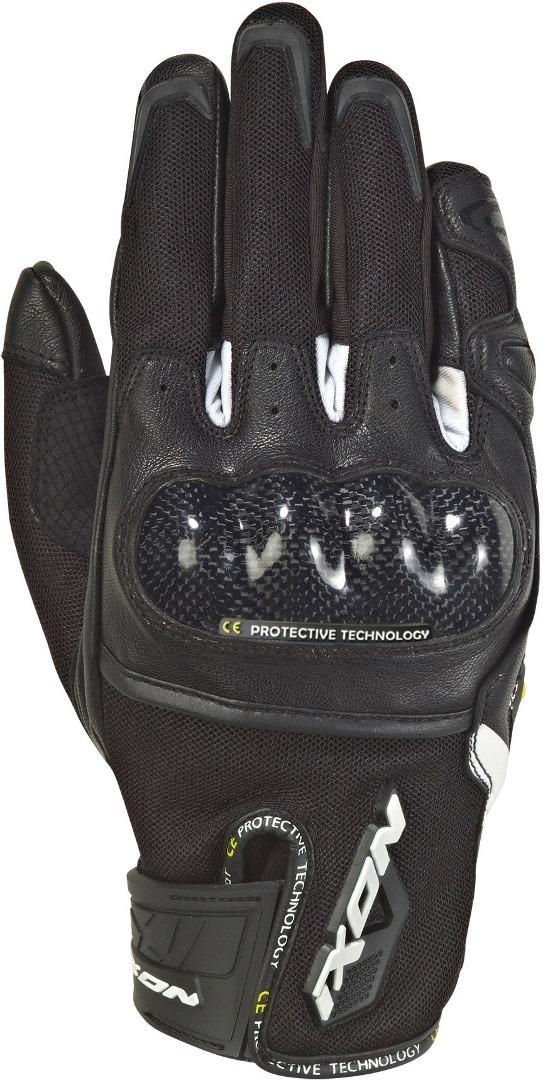 Ixon Rs Rise Air Motorradhandschuhe, schwarz-weiss, Größe S, schwarz-weiss, Größe S