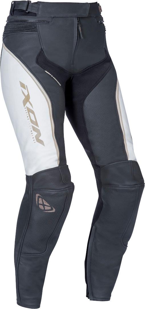 Ixon Trinity Damen Motorradhose, schwarz-weiss, Größe XL, schwarz-weiss, Größe XL