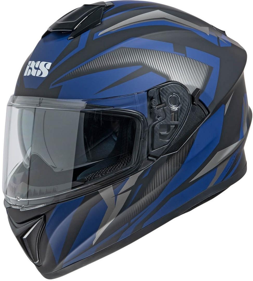 IXS 216 2.1 Helm, schwarz-blau, Größe M, schwarz-blau, Größe M