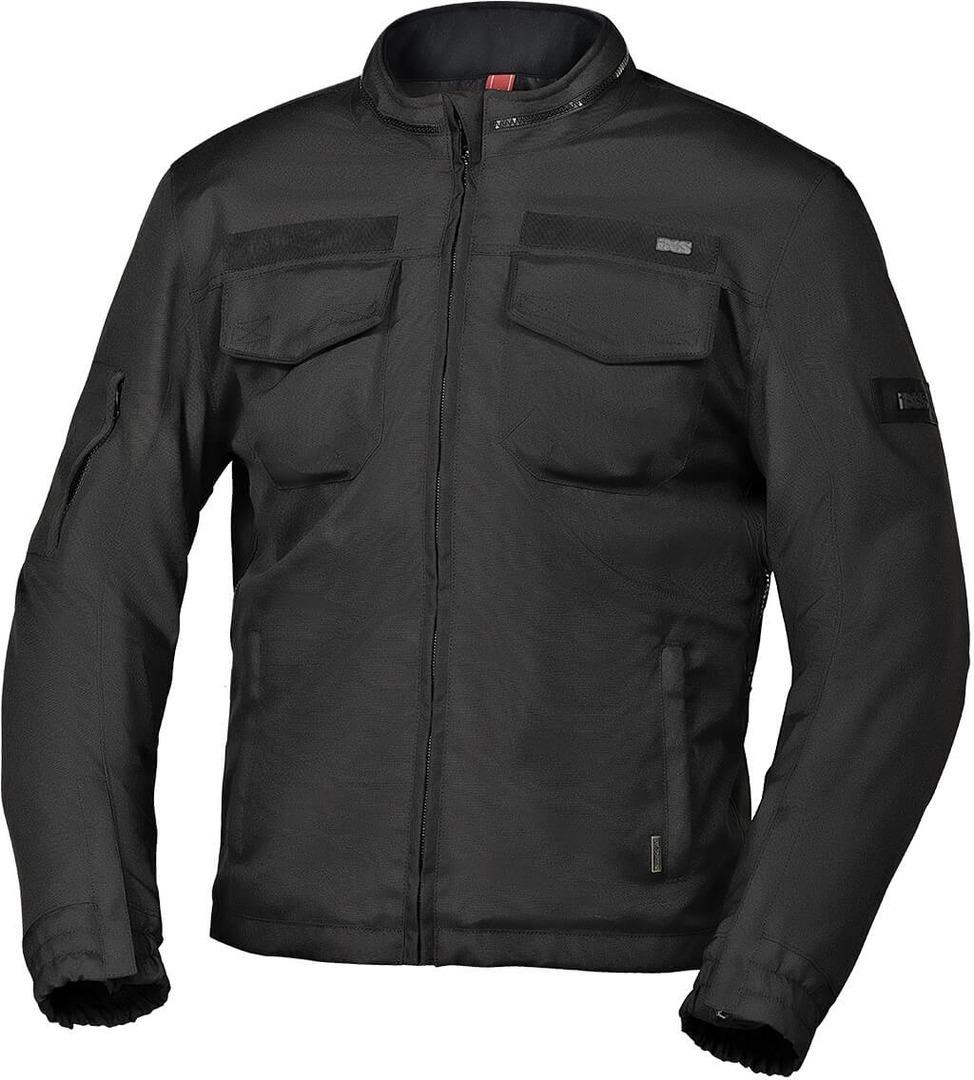 IXS Classic Baldwin-ST wasserdichte Motorrad Textiljacke, schwarz, Größe S, schwarz, Größe S