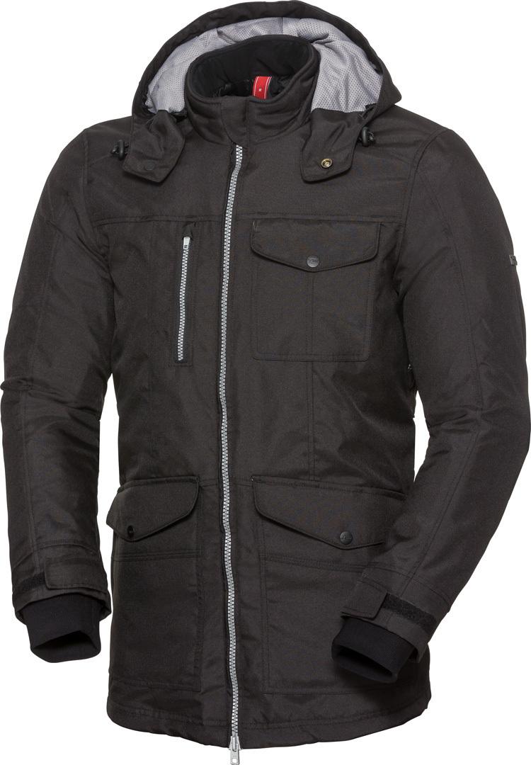 IXS Classic Urban-ST wasserdichte Motorrad Textiljacke, schwarz, Größe M, schwarz, Größe M