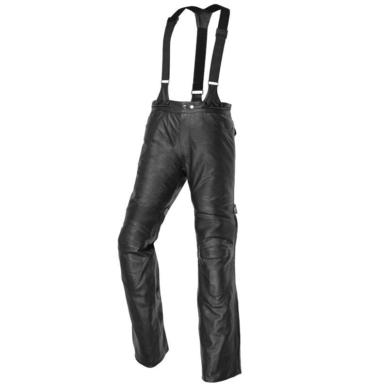 IXS Grimstad wasserdichte Lederhose, schwarz, Größe 60, schwarz, Größe 60