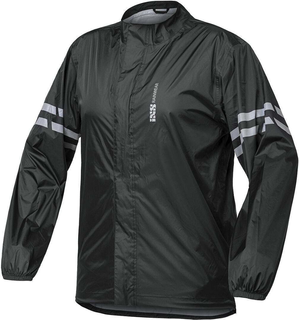 IXS Light Regenjacke, schwarz, Größe 4XL, schwarz, Größe 4XL