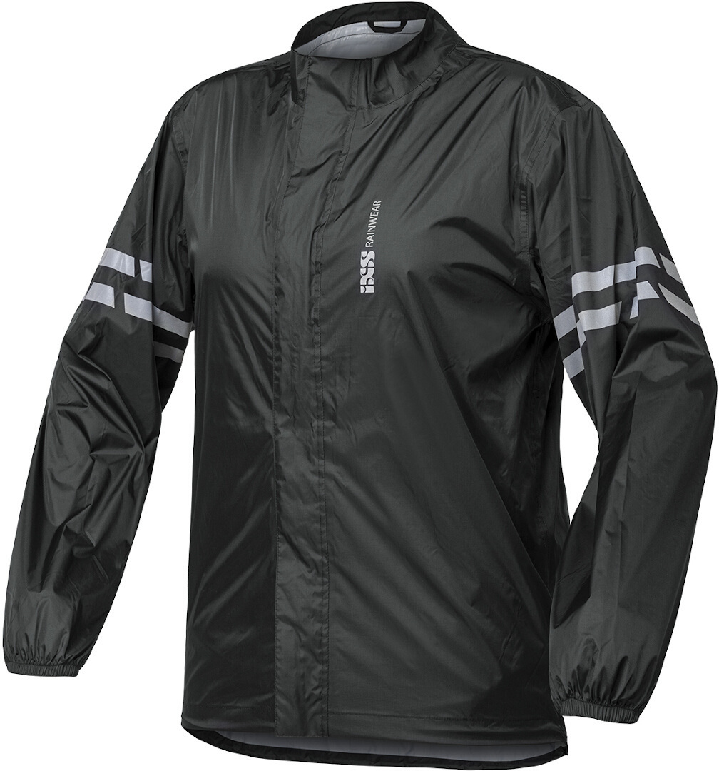 IXS Light Regenjacke, schwarz, Größe 5XL, schwarz, Größe 5XL