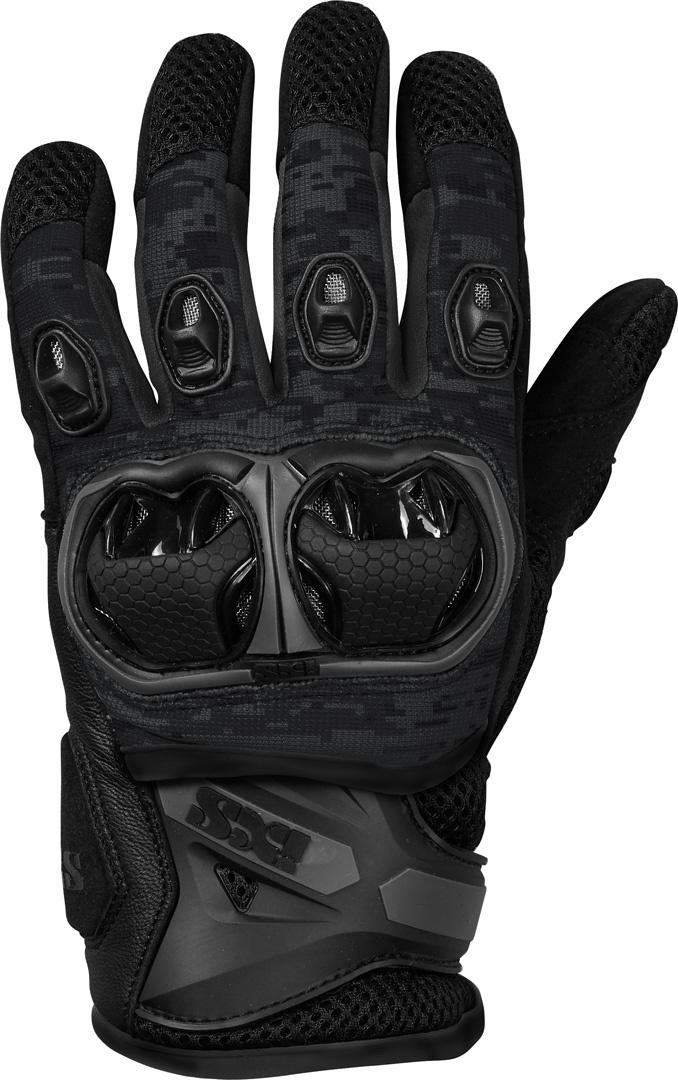 IXS LT Montevideo Air S Motocross Handschuhe, schwarz, Größe L, schwarz, Größe L