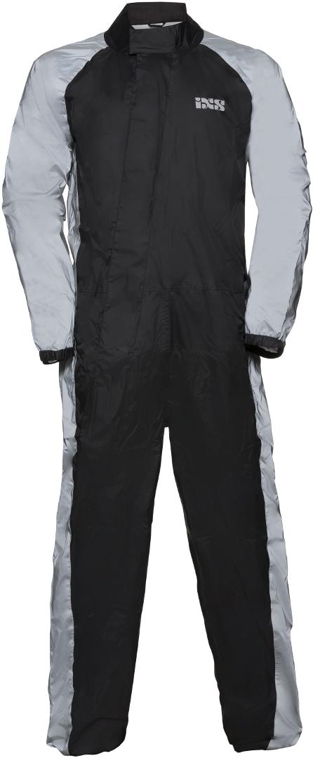 IXS Orca Reflex 1-Teiler Regenkombi, schwarz-silber, Größe 5XL, schwarz-silber, Größe 5XL