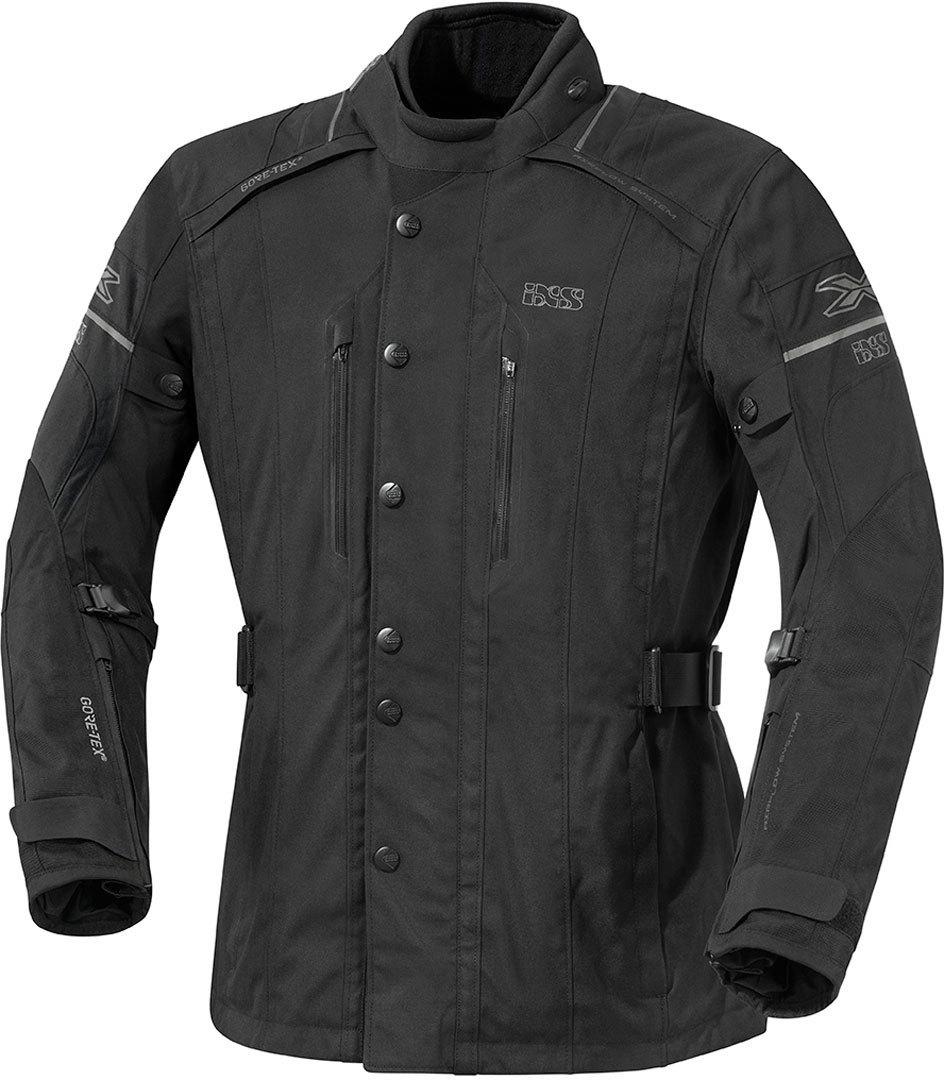 IXS Savona Gore-Tex Textiljacke, schwarz, Größe 5XL, schwarz, Größe 5XL
