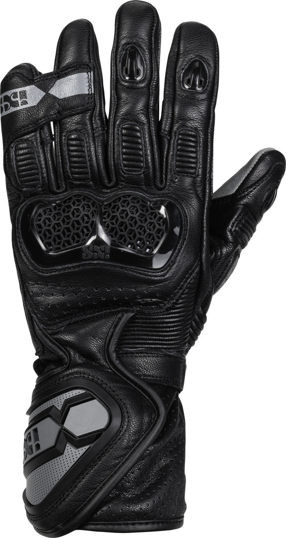 IXS Sport LD RS-200 2.0 Motorradhandschuhe, schwarz-grau, Größe 3XL, schwarz-grau, Größe 3XL
