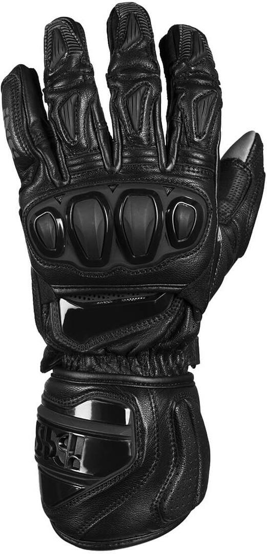 IXS Sport RS-300 2.0 Motorradhandschuhe, schwarz, Größe L, schwarz, Größe L