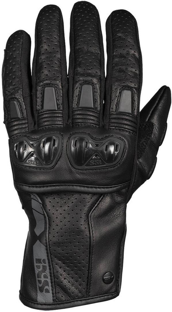 IXS Sport Talura 3.0 perforierte Motorradhandschuhe, schwarz, Größe M, schwarz, Größe M