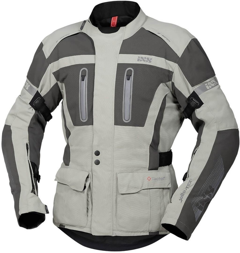 IXS Tour Pacora-ST Motorrad Textiljacke, grau, Größe 3XL, grau, Größe 3XL