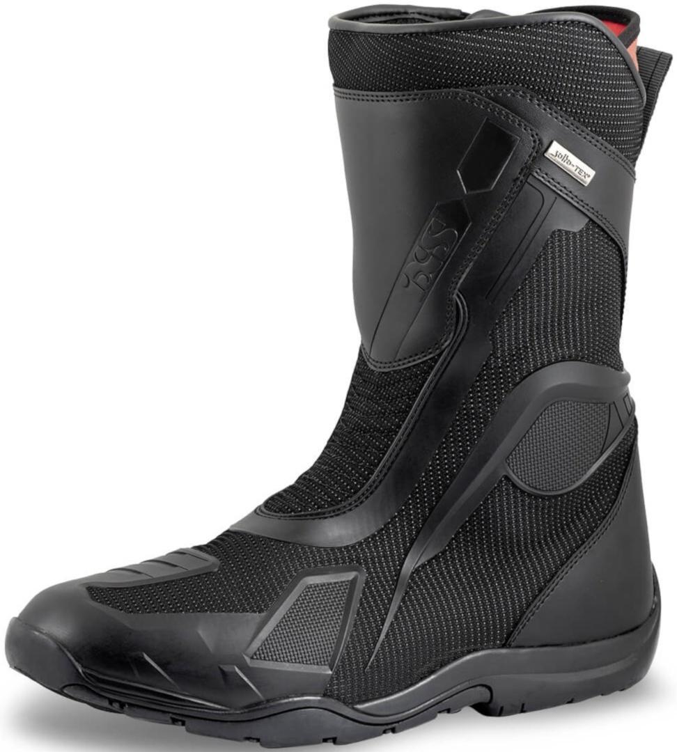 IXS Tour Techno-ST+ Motorradstiefel, schwarz, Größe 38, schwarz, Größe 38