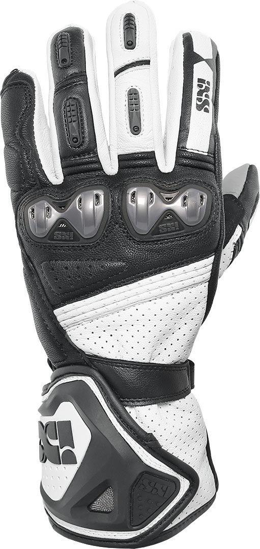 IXS X-Sport RS-100 Motorradhandschuhe, schwarz-weiss, Größe XL, schwarz-weiss, Größe XL
