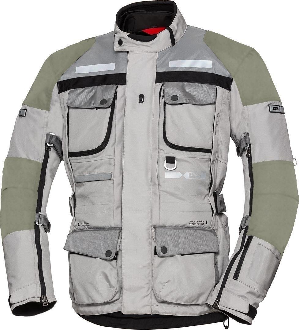 IXS X-Tour LT Montevideo-Air Motorrad Textiljacke, grau, Größe L, grau, Größe L