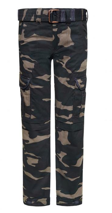John Doe Cargo Regular XTM Hose Camouflage, mehrfarbig, Größe 33, mehrfarbig, Größe 33