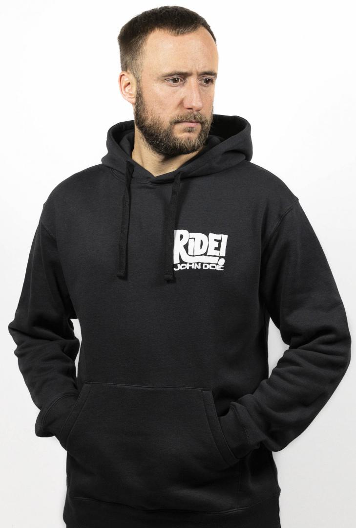 John Doe Ride Hoodie, schwarz, Größe 2XL, schwarz, Größe 2XL
