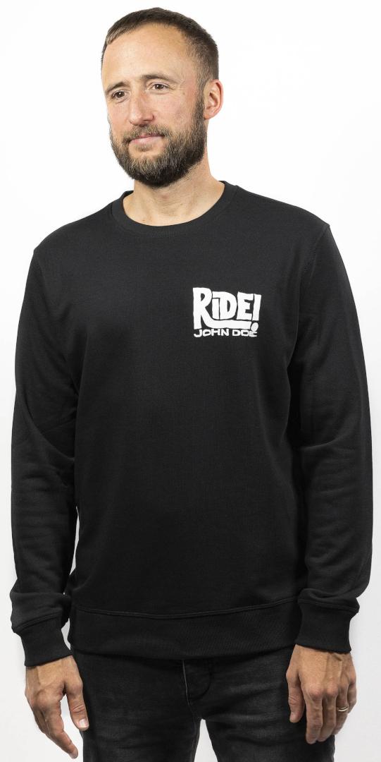 John Doe Ride Pullover, schwarz, Größe L, schwarz, Größe L