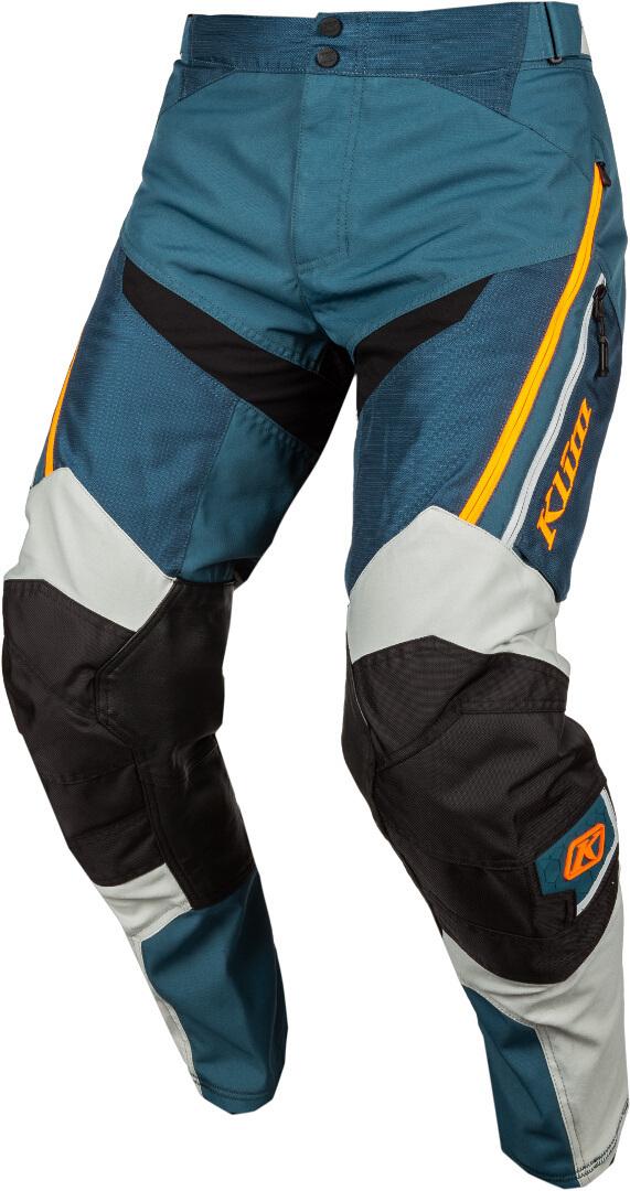 Klim Dakar In The Boots Motocross Hose, grün-orange, Größe 32, grün-orange, Größe 32