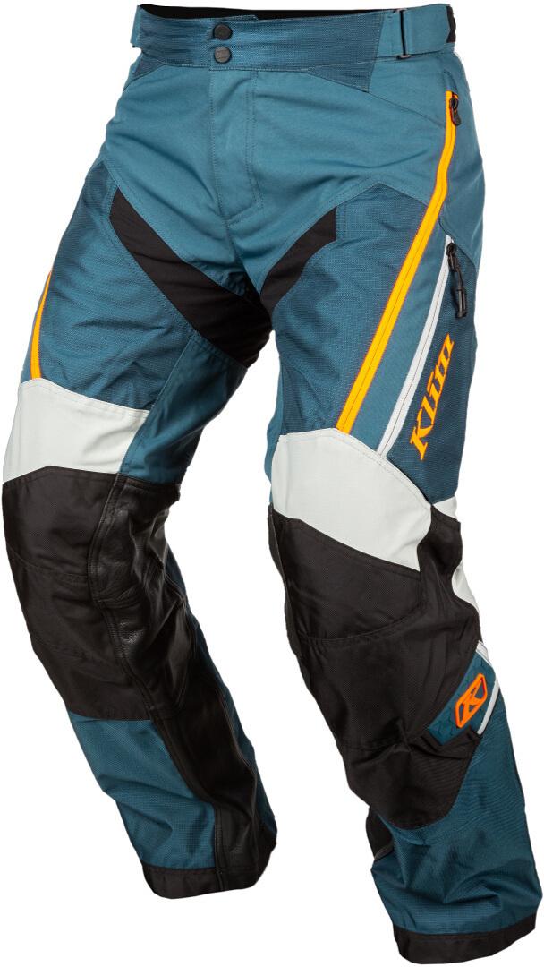 Klim Dakar Motocross Hose, grün-orange, Größe 30, grün-orange, Größe 30