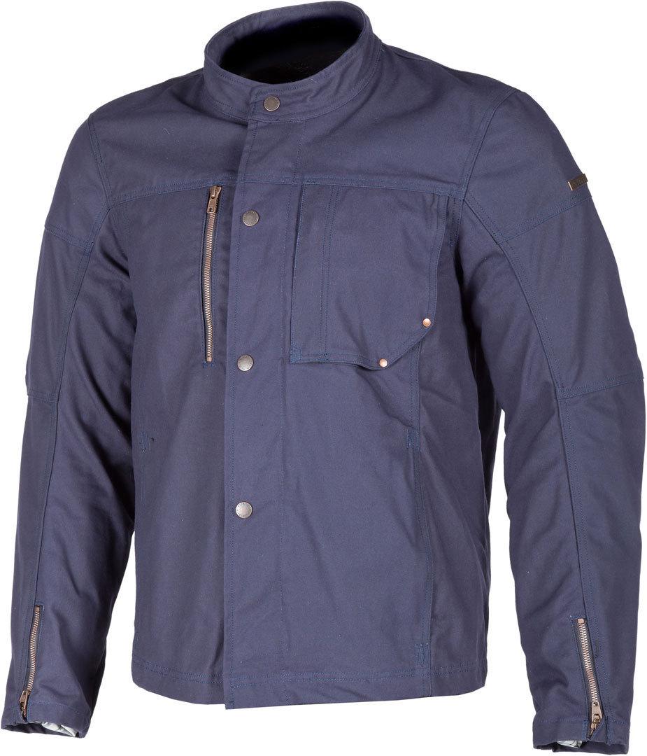 Klim Drifter Motorrad Textiljacke, blau, Größe M, blau, Größe M