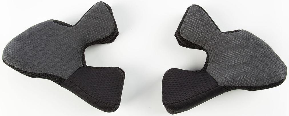 Klim F5 XL-3XL Wangenpads, schwarz, Größe 10 cm, schwarz, Größe 10 cm