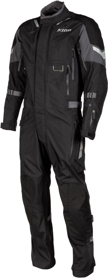 Klim Hardanger 1-Teiler Motorrad Textilkombi, schwarz, Größe 2XL, schwarz, Größe 2XL