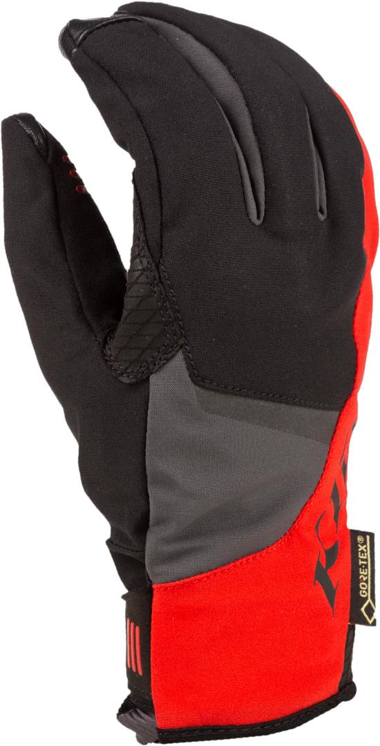 Klim Inversion Gore-Tex Motorradhandschuhe, schwarz-rot, Größe 2XL, schwarz-rot, Größe 2XL