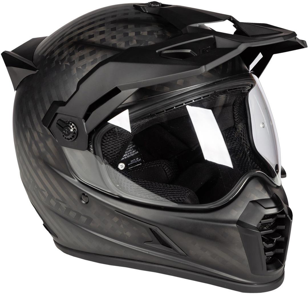 Klim Krios Pro Motocross Helm, schwarz, Größe S, schwarz, Größe S