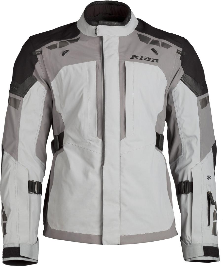 Klim Latitude Motorrad Textiljacke, grau, Größe 56, grau, Größe 56