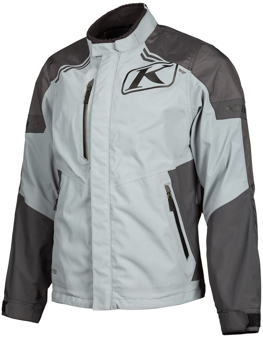 Klim Traverse Gore-Tex Motorrad Textiljacke, grau, Größe L, grau, Größe L