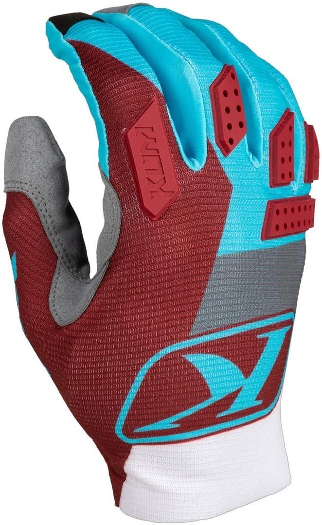 Klim XC Lite Motocross Handschuhe, rot-blau, Größe XL, rot-blau, Größe XL