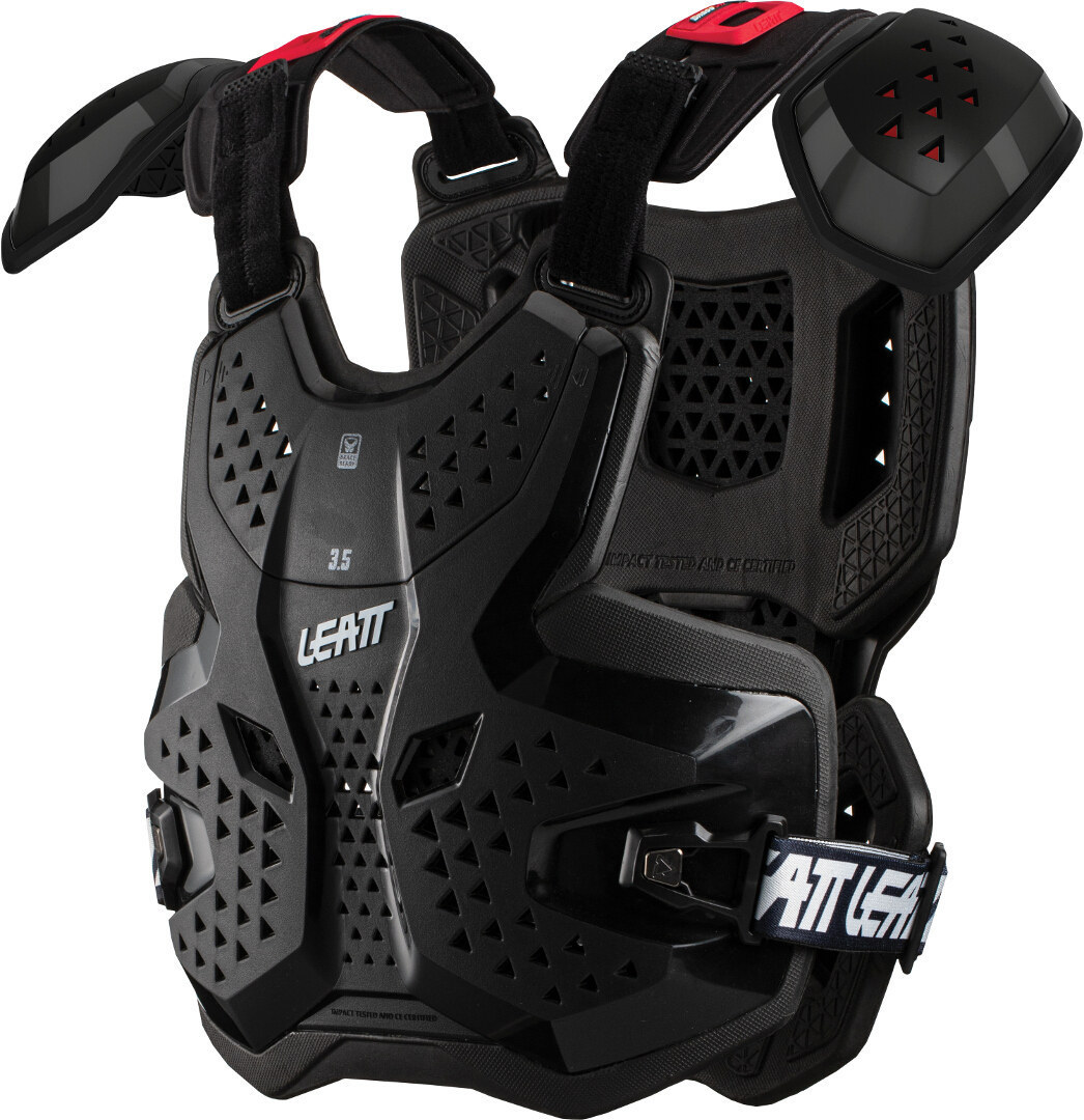 Leatt 3.5 Pro Brustprotektor, schwarz, schwarz