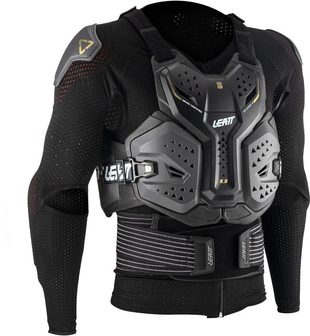 Leatt 6.5 Body Protektorenjacke, schwarz-grau, Größe S, schwarz-grau, Größe S